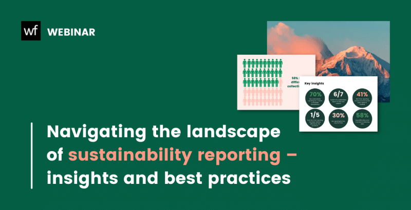 on-demand webinar: navigating the landscape of sustainability reporting, insights and best practices